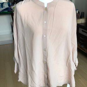 NWT Poetry Silk Blouse Size 14